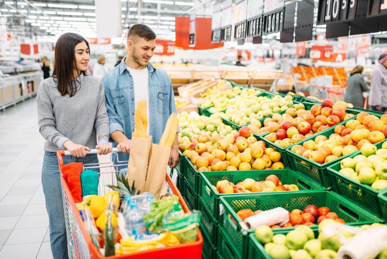 Sucesso do cliente em supermercados