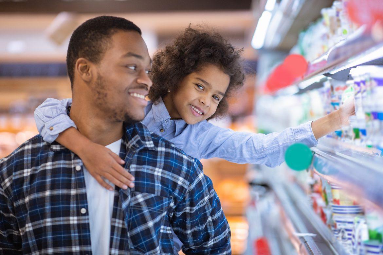 Supermercado no Dia dos Pais