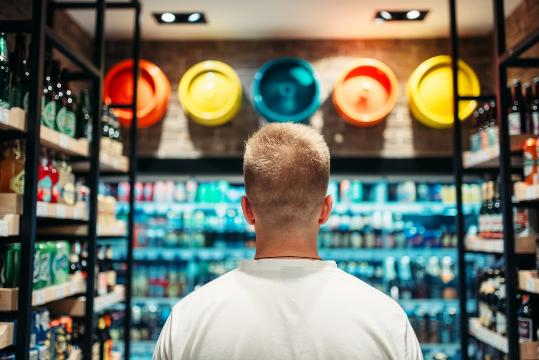 comunicação visual para supermercado